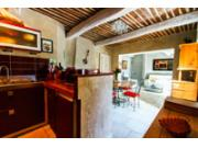 The Bastide Ferreol - living room / kitchen view